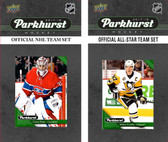 NHL Montreal Canadiens 2017 Parkhurst Team Set and All-Star Set