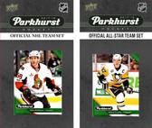 NHL Ottawa Senators 2017 Parkhurst Team Set and All-Star Set