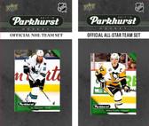 NHL San Jose Sharks 2017 Parkhurst Team Set and All-Star Set