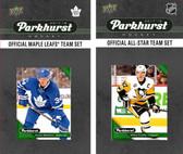 NHL Toronto Maple Leafs 2017 Parkhurst Team Set and All-Star Set