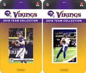 NFL Minnesota Vikings Licensed 2018 Panini and Donruss Team Set