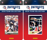 NFL New England Patriots Licensed 2018 Panini and Donruss Team Set