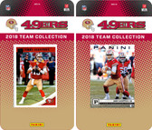 NFL San Francisco 49ers Licensed 2018 Panini and Donruss Team Set