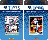 NFL Tennessee Titans Licensed 2018 Panini and Donruss Team Set