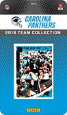 NFL Carolina Panthers Licensed 2018 Donruss Team Set.