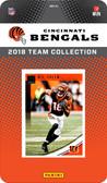 NFL Cincinnati Bengals Licensed 2018 Donruss Team Set.