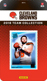 NFL Cleveland Browns Licensed 2018 Donruss Team Set.
