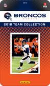 NFL Denver Broncos Licensed 2018 Donruss Team Set.