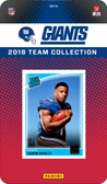 NFL New York Giants Licensed 2018 Donruss Team Set.