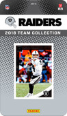 NFL Oakland Raiders Licensed 2018 Donruss Team Set.