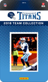 NFL Tennessee Titans Licensed 2018 Donruss Team Set.