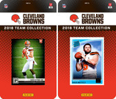 NFL Cleveland Browns Licensed 2018 Panini and Donruss Team Set