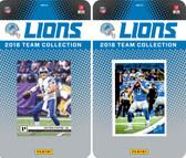 NFL Detroit Lions Licensed 2018 Panini and Donruss Team Set