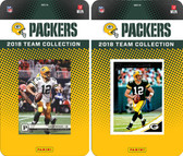 NFL Green Bay Packers Licensed 2018 Panini and Donruss Team Set