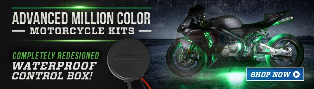 Advanced Million Color SMD Motorcycle Light Kit
