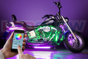 Advanced Million Color SMD LED Motorcycle Lighting Kit