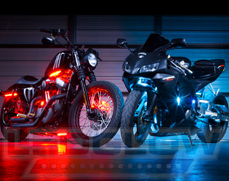 Motorcycle LED Lights Featured Products & MotorcycleLEDLights by LEDGlow Lighting azcodes.com