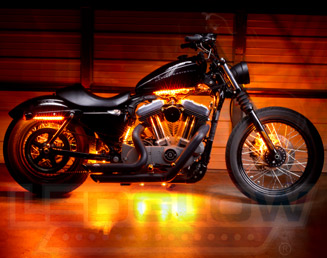 Harley Davidson Motorcycle LED Lights by Custom Dynamics