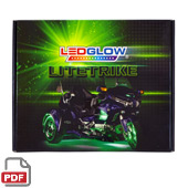 LiteTrike I and II Advanced Million Color LED Lighting Kits