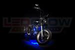 Blue Motorcycle Pod LED Lighting Kit