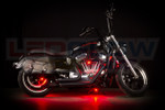 Red Motorcycle Pod LED Lighting Kit