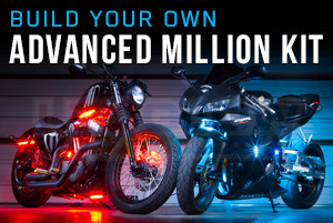 Build your own motorcycle lighting kit build your own advanced million color smd led motorcycle lighting kit solutioingenieria Images