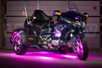 Pink LiteTrike II Motorcycle LED Lighting Kit