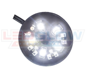 White Motorcycle Pod LED Lighting Kit