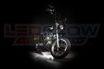 White Motorcycle Pod LED Lighting Kit