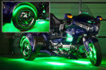 LiteTrike III Advanced Million Color SMD Lighting Kit - Green