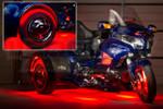 LiteTrike III Advanced Million Color SMD Lighting Kit - Red