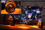 LiteTrike III Advanced Million Color SMD Lighting Kit - Orange