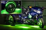 LiteTrike III Advanced Million Color SMD Lighting Kit - Light Green