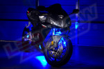 Blue LED Motorcycle Lighting Kit