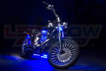 Blue LED Motorcycle Underglow Lights