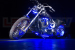 Blue Motorcycle LED Lighting Kit