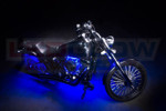 LEDGlow Blue Motorcycle LED Lighting Kit