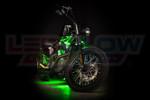 Green Motorcycle LED Lighting Kit