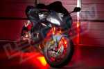 Red LED Motorcycle Lighting Kit