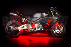 classic red led motorcycle light kit. Black Bedroom Furniture Sets. Home Design Ideas