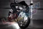 White LED Motorcycle Lighting Kit