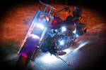Classic White LED Motorcycle Lights