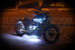 White Motorcycle LED Accent Lights