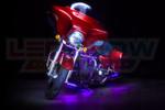 Purple Motorcycle LED Lighting Kit