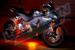 LEDGlow Advanced Orange SMD LED Motorcycle Lighting Kit