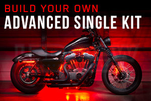 Build Your Own Advanced Single Color SMD LED Motorcycle Lighting Kit