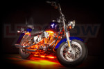 Orange Motorcycle LED Accent Lights