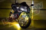 Yellow LED Motorcycle Lighting Kit