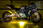 Yellow Motorcycle LED Lights