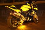 LEDGlow Classic Yellow LED Motorcycle Lighting Kit